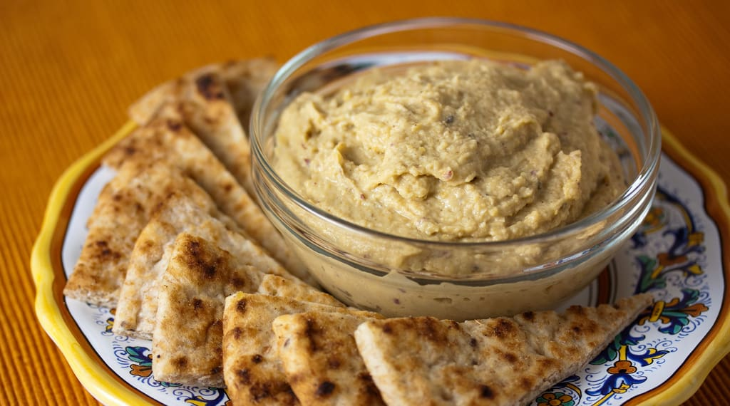 Hummus er lækkert, sundt og vegetarisk
