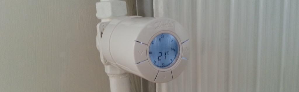 Montering af danfoss termostat