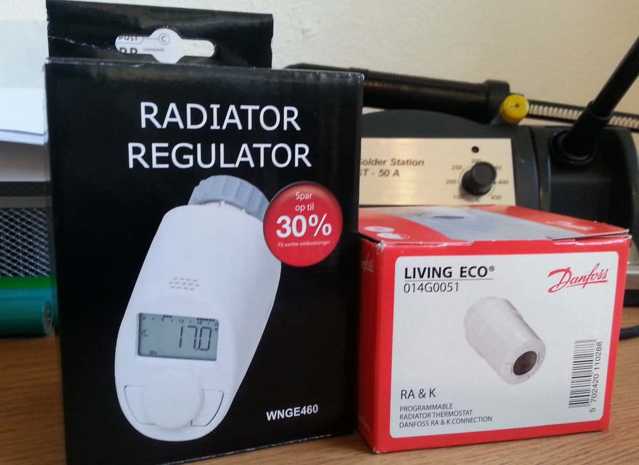 Lige ud Spar mange penge med elektroniske termostater - Pengepugeren RL77