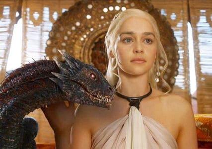 """""""Det ville være synd, hvis der skete noget med dit fine nye hus"""" - Khaleesi, Mother of Dragons Billede: Wikipedia"""