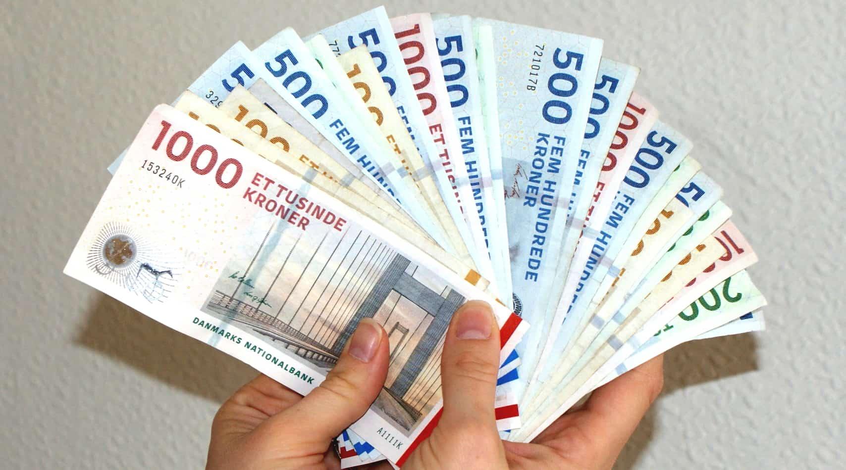 Penge i vifte