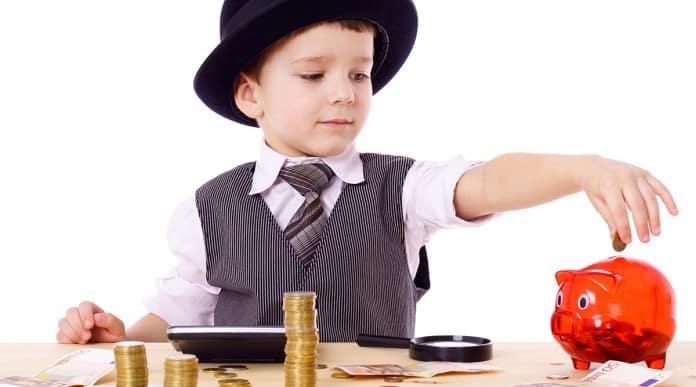 Barn og penge