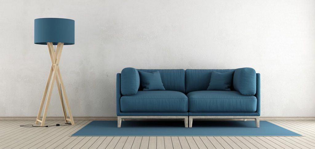 Minimalistisk stue