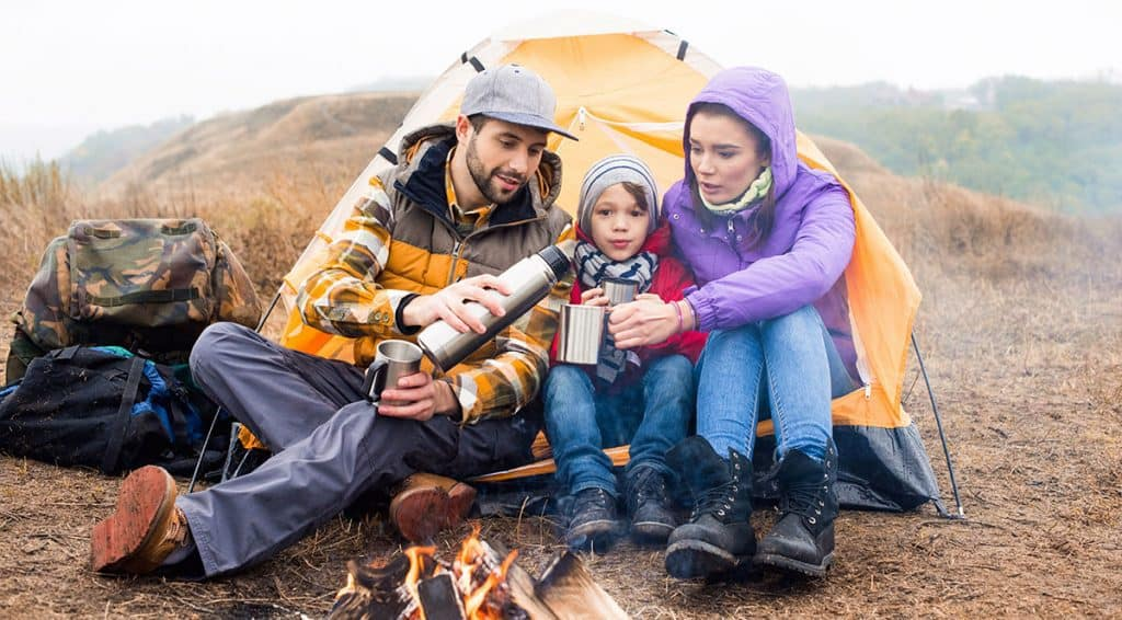 Telt camping